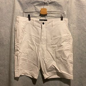 Abercrombie and Fitch White Short